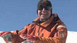 ★Карвинг Лыжи★  Урок 16 плавные повороты на горных лыжах