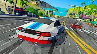 Hotshot Racing - A Tyre-Shredding Arcade Racing Game Inspired by 90's SEGA Classics! (Beta Gameplay)