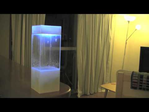Tempescope, a box of rain in your living room