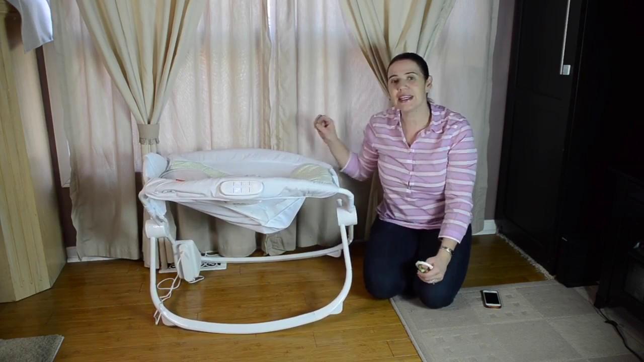 7429e0bb5 Cuna Portatil Mecedora Fisher Price conecta al celular Jugueteria Baby  Kingdom