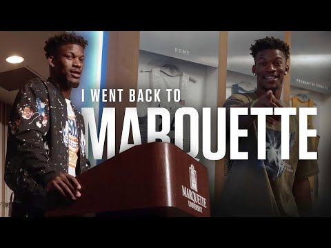 I went back to Marquette