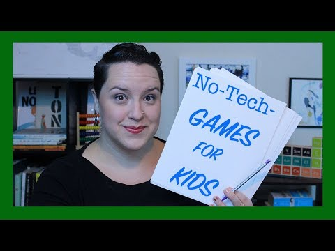 Simple And Easy Games For Kids | No Tech Needed