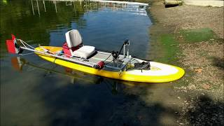 PealProp on Stand Up Paddle Board.