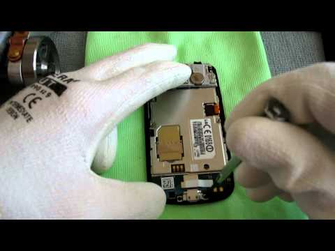 How to disassemble the LG-P500 Optimus One - The first instruction video out there