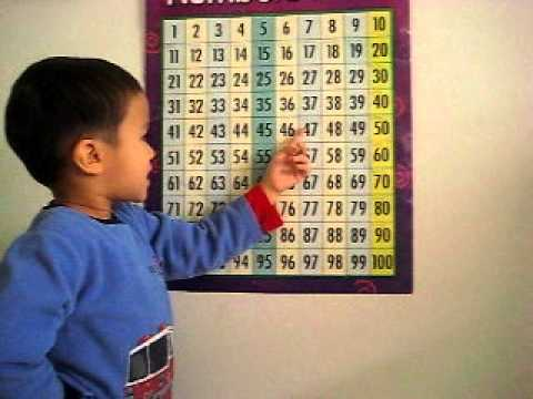 how to teach counting backwards from 100