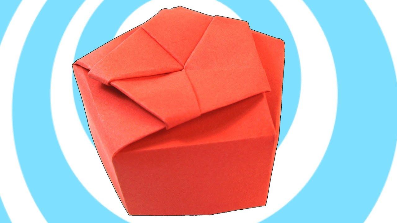 origami gift box instructions pdf
