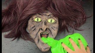 سويت سلايم هالوين يستفرغ !!😱😻✨