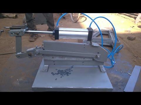PNEUMATIC SHEET METAL CUTTING MACHINE |MECHANICAL PROJECT|ISHU MERTIA