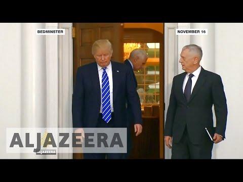 Donald Trump picks 'Mad Dog' Mattis for defense secretary