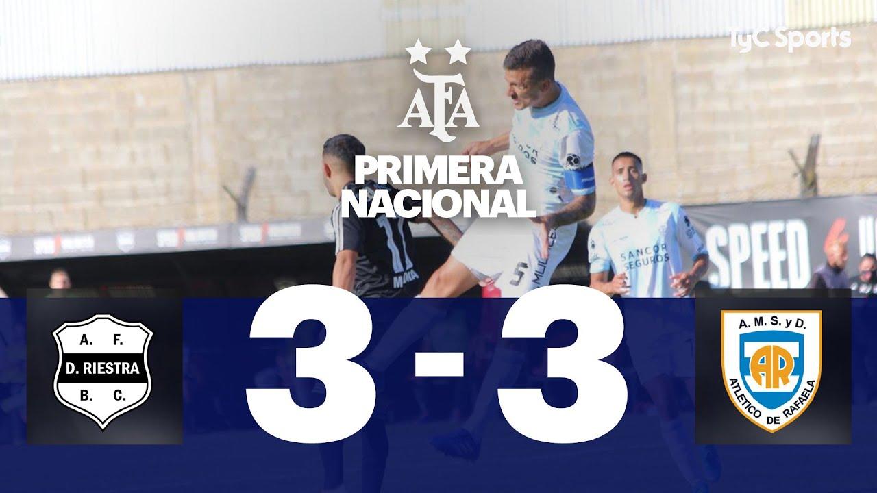 Deportivo Riestra 3-3 Atlético Rafaela | Primera Nacional