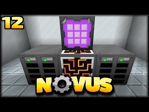 ME System & Quarry   Minecraft NOVUS #12
