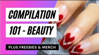 Nail Art Designs 2021 Nails Video 101 Freebies Merch Nail Art Compilations GIVEAWAY