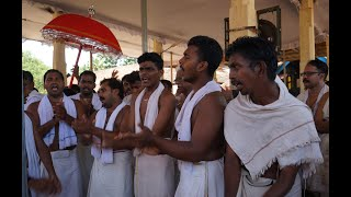 The Vanchipattu, the boatmen song of Kerala - Parthasarathy temple - Aranmula snake boat race 2015.