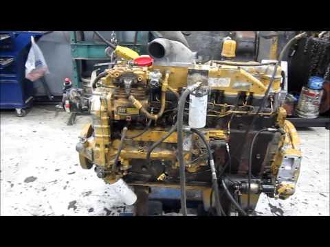 Rebuilt Cat 3406B Engine Running by Frontier Truck Parts