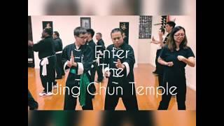 Enter The Wing Chun Temple