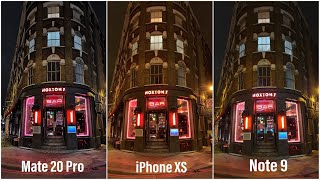 Huawei Mate 20 Pro Vs. iPhone XS Vs. Samsung Note 9: Camera Shootout