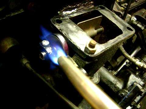 willys heat riser - exhaust manifold