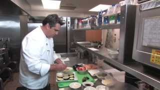 UIHC Healthy Recipes: Eggplant and Grilled Tomato Sandwich with Mozzarella
