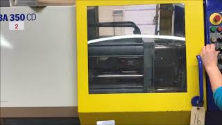 Used 35 Ton Battenfeld Injection Molding Machine, Model BA 350/CD, 2.0 Oz, New In 1987