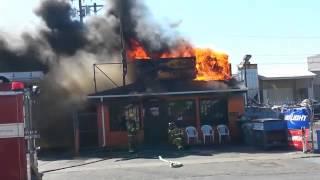 Tavern Fire in Tacoma