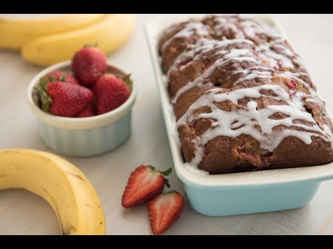 Healthy Strawberry Blueberry Bread Recipe