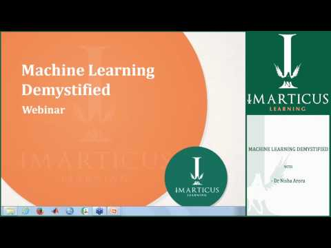 ImarticusLive on Machine Learning Demystified [Webinar]