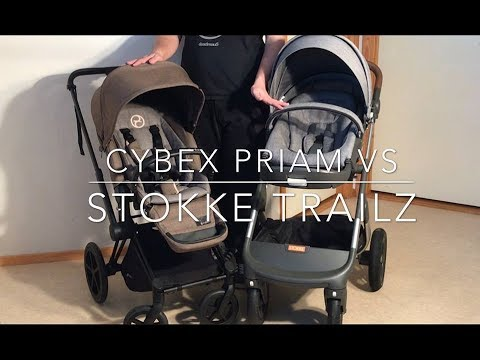 Cybex Priam VS Stokke Trailz. Mechanics, Comfort, Use