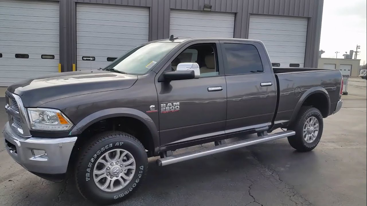 2015 Dodge Ram 2500 Laramie Edition  Cummins Turbo Diesel  YouTube