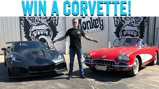 Support Veterans and Win a Vette!