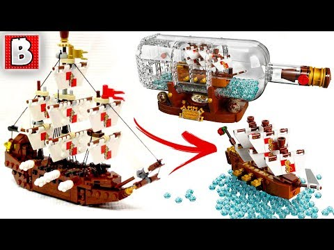 LEGO IDEAS Ship in a Bottle 21313 is Smaller Than Expected... | LEGO News|