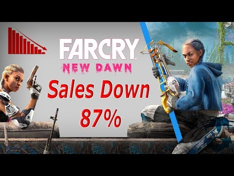 Far Cry: New Dawn TANKS! Sales DOWN 87%  What Happened? thumbnail