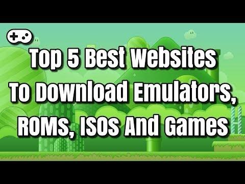 Top 5 Best Websites To Download Emulators, ROMs, ISOs And Games
