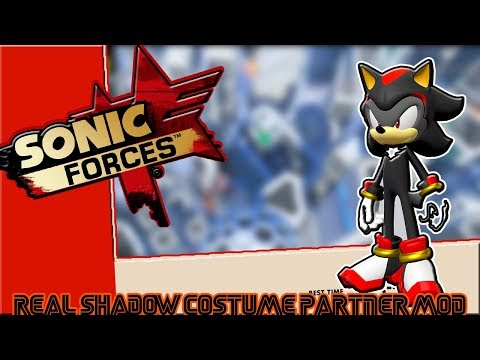 Sonic Forces(PC) Mods: Real Shadow Costume Partner Mod