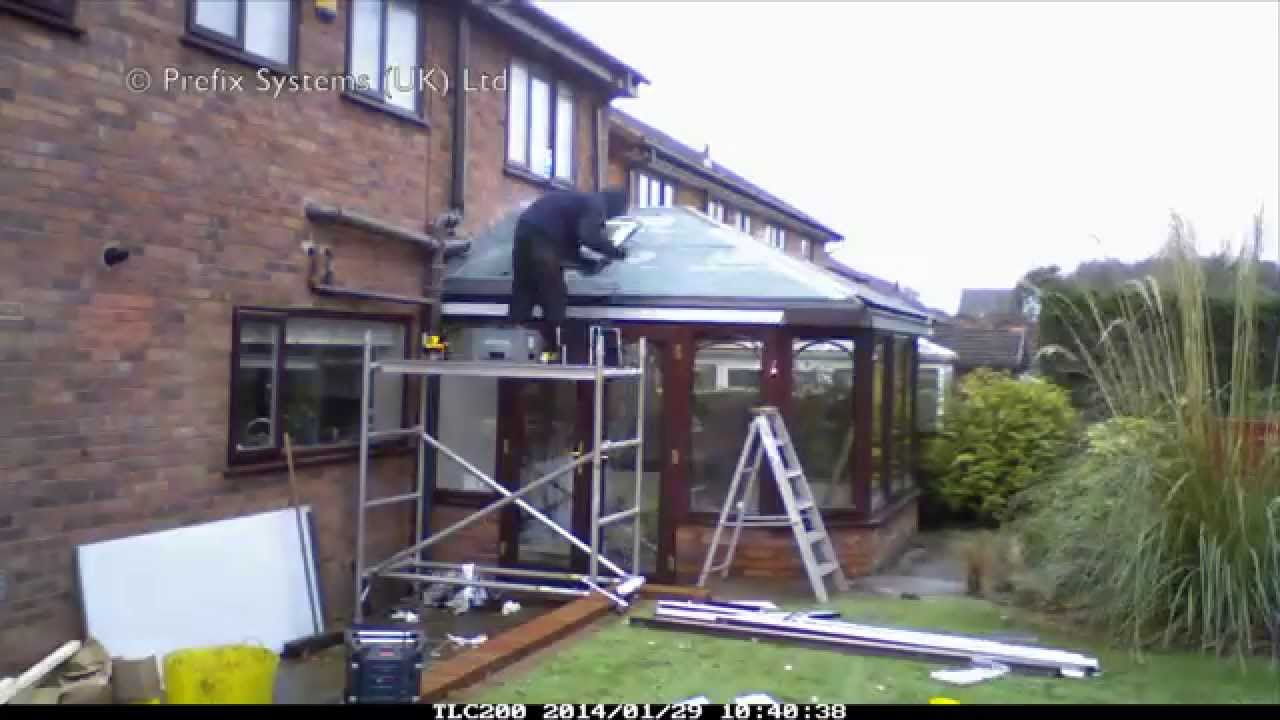 Conservatory Roof Conversion >> Tiled Conservatory Roof - YouTube