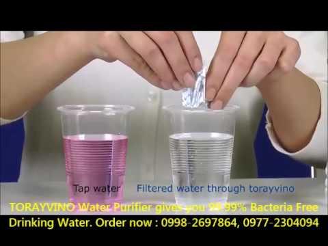TORAYVINO Japan No 1 Water Purifier