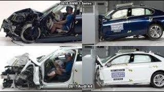 2017 Audi A4 Vs BMW 3 Series Crash Tests