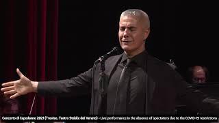 Alessandro Safina & Amii Stewart - Concerto di Capodanno (1 Gennaio 2021, Treviso, Italy)