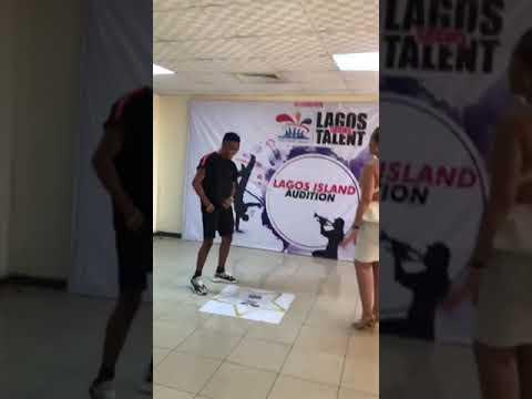 HUMBLESMITH AND CAROLINE DANCING TO 'ABAKALIKI 2 LASGIDI' (Part 2)
