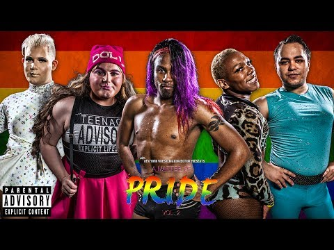 NYWC : A Matter of Pride Vol. 2 [FULL SHOW] Drag Queens, INTERGENDER WRESTLING,  LGBTQ