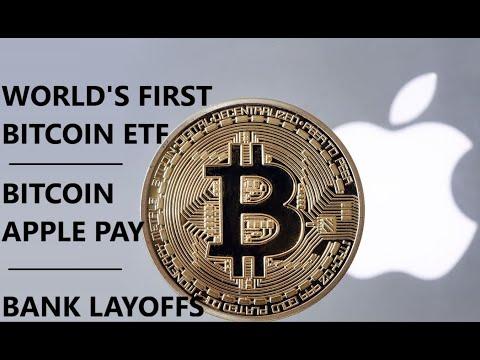 Apply Pay Bitcoin; Germany's Largest Bank CLOSINGS; Bitcoin ETF; Jack Dorsey Bitcoin Fund