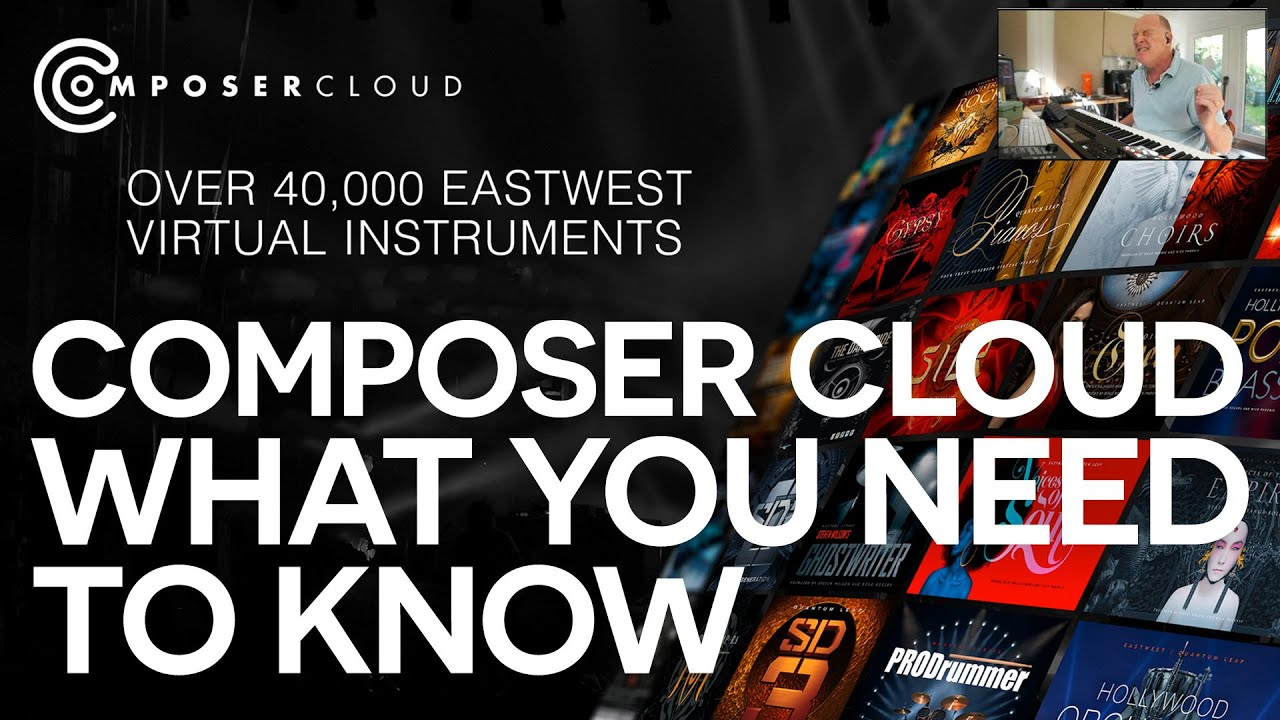 Composer Guy Michelmore tells us ALL about EastWest ComposerCloud!