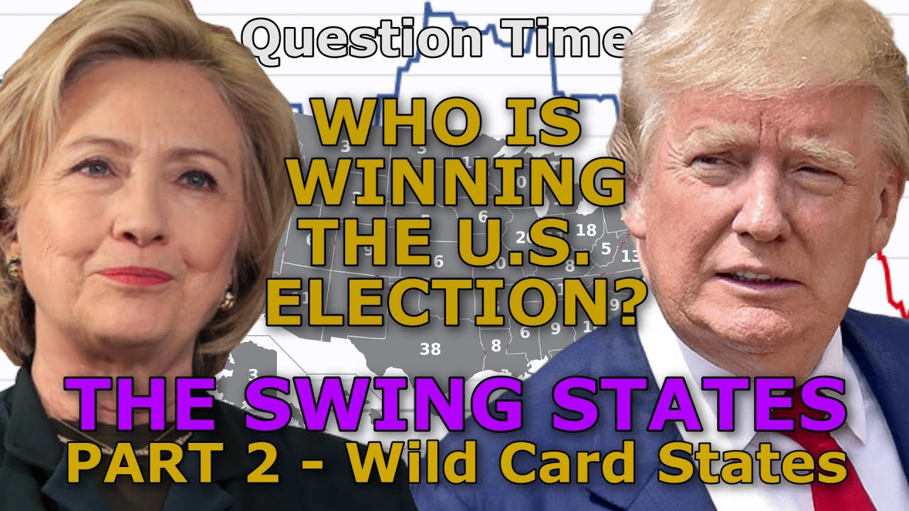 WHO IS WINNING THE US ELECTION The Swing States PART Wild - Us map of winning states