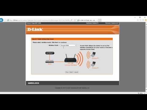 วิธีการตั้งค่า repeater ของ Access point รุ่น DAP-1360