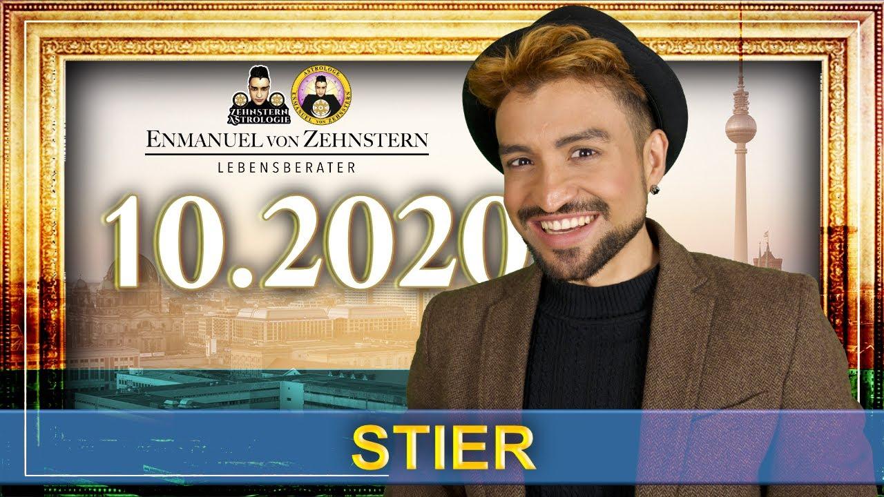 STIER STERNZEICHEN UND ASZENDENT OKTOBER 2020   #ZehnsternAstrologie.com
