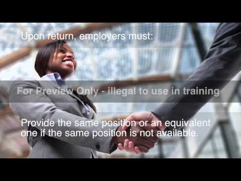 FMLA   Everything You Need to Know Training Course