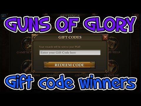 Guns Of Glory KVK gift code winners