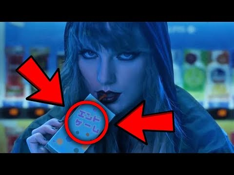 10 THINGS YOU MISSED IN Taylor Swift - End...