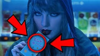 10 Things You Missed In Taylor Swift End Game Ft Ed Sheeran Future