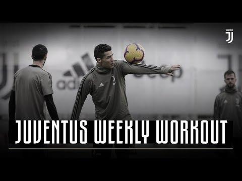 Rondo Skills Show in Training | Juventus Weekly Workout