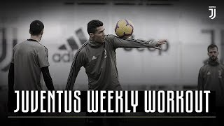 Rondo Skills Show in Training | Juventus Weekly Workout